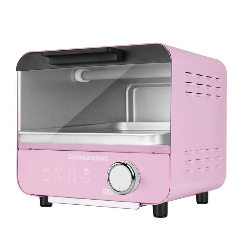 长虹 烤箱 5L容量 迷你设计 双石英管发热 全身采用不锈钢KX05-A1