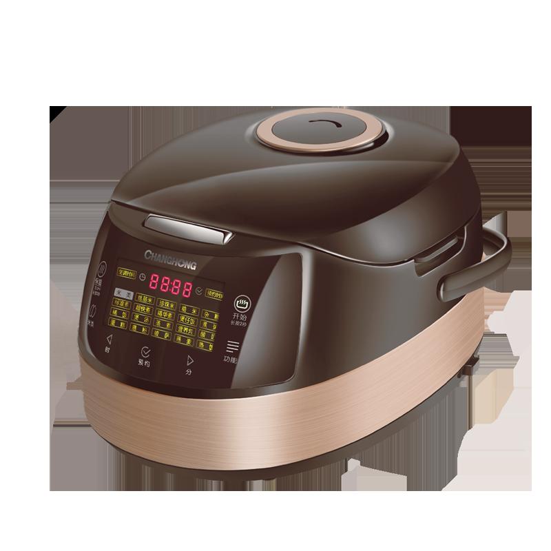 长虹(CHANGHONG)微电脑电饭煲 CFB-F50G60 5升黄金容量,微电脑控制