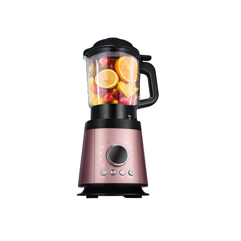 长虹(CHANGHONG) 多功能破壁机智能加热破壁机/豆浆果蔬料理机 粉红色