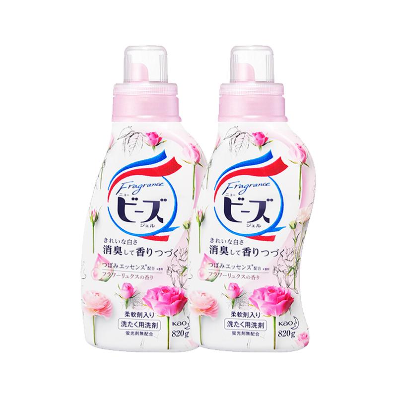 花王玫瑰洗衣液820ML*2瓶