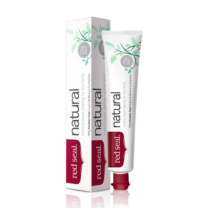 新西兰 Red Seal/红印 红印牌矿物质牙膏 100g