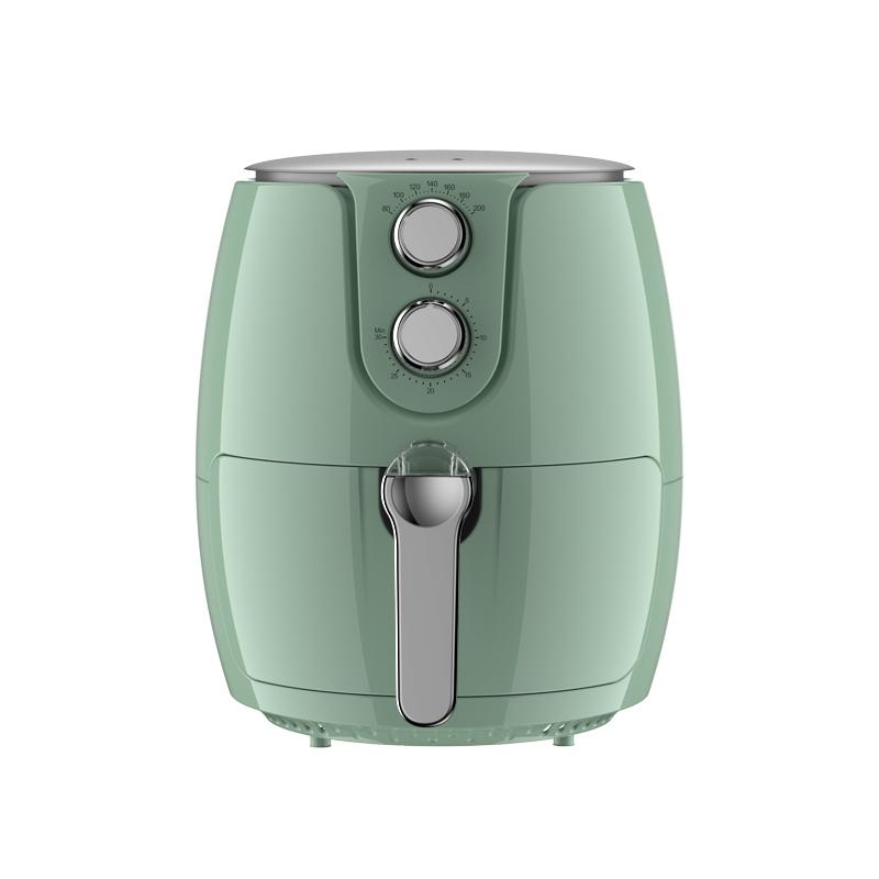 pericook双锅设计复古高颜值无油空气炸锅2.5L