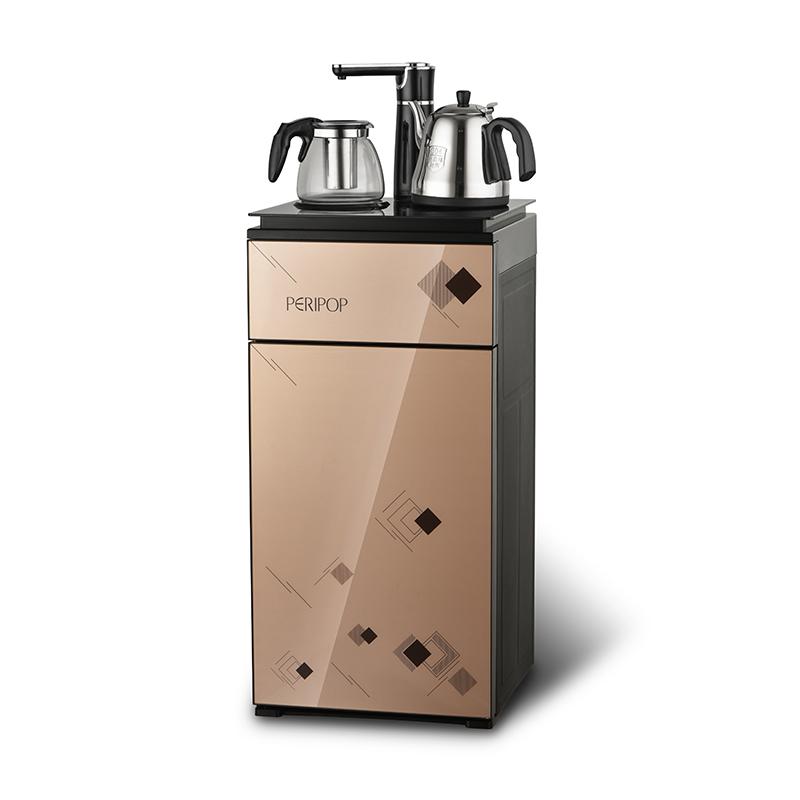 peripop多功能保温加热双发热盘大范围水温可调节茶吧机