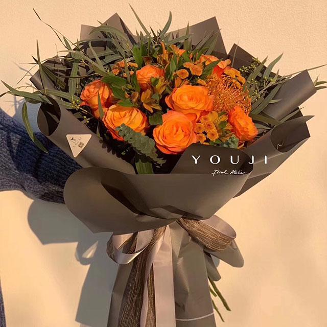 YOUJI-夕阳(1束)尤己鲜花花束定制仅限北京同城直送
