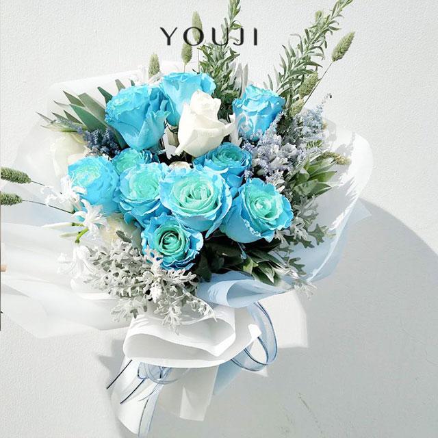 YOUJI-冰雪女王(1束)尤己鲜花花束定制仅限北京同城直送