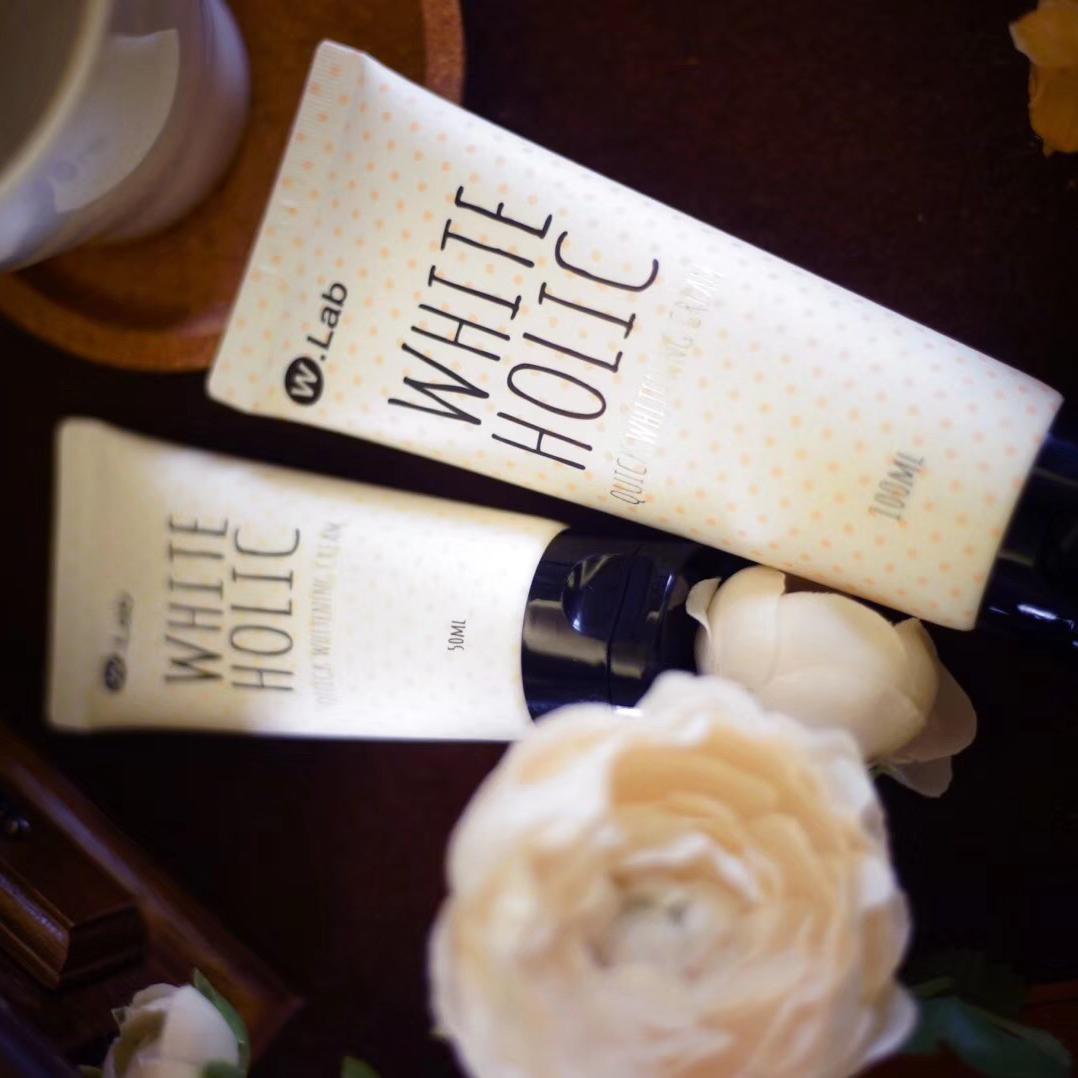 Wlab速白霜 白雪公主素颜霜 保湿补水护肤亮白遮瑕面霜