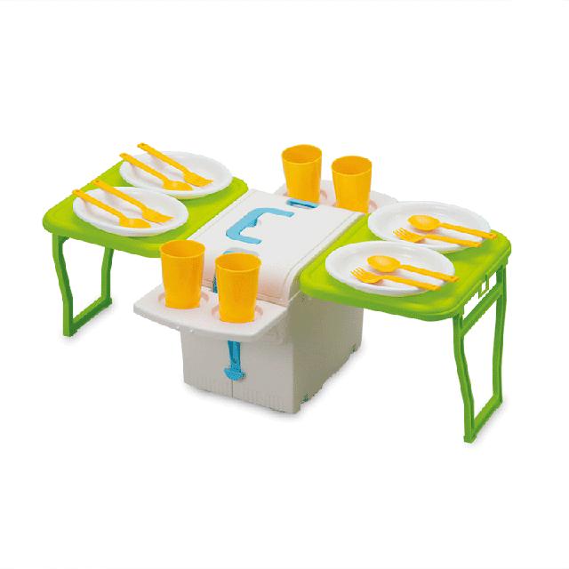 日本原产Imotani车载户外保温保冷便携可折叠野餐桌带餐具