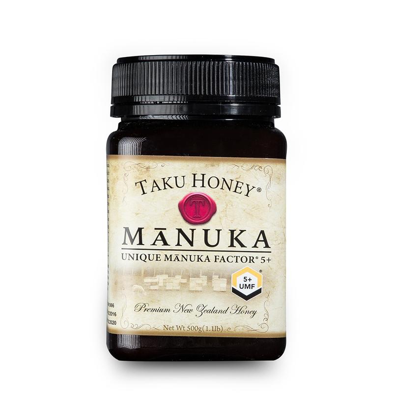 新西兰原产Taku塔库麦卢卡蜂蜜UMF5+500g