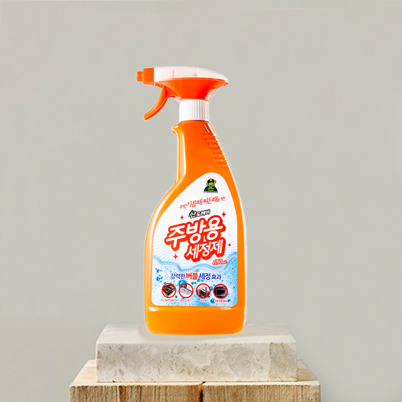 韩国原产Sandokkaebi山小怪厨房清洁剂除污剂650ml