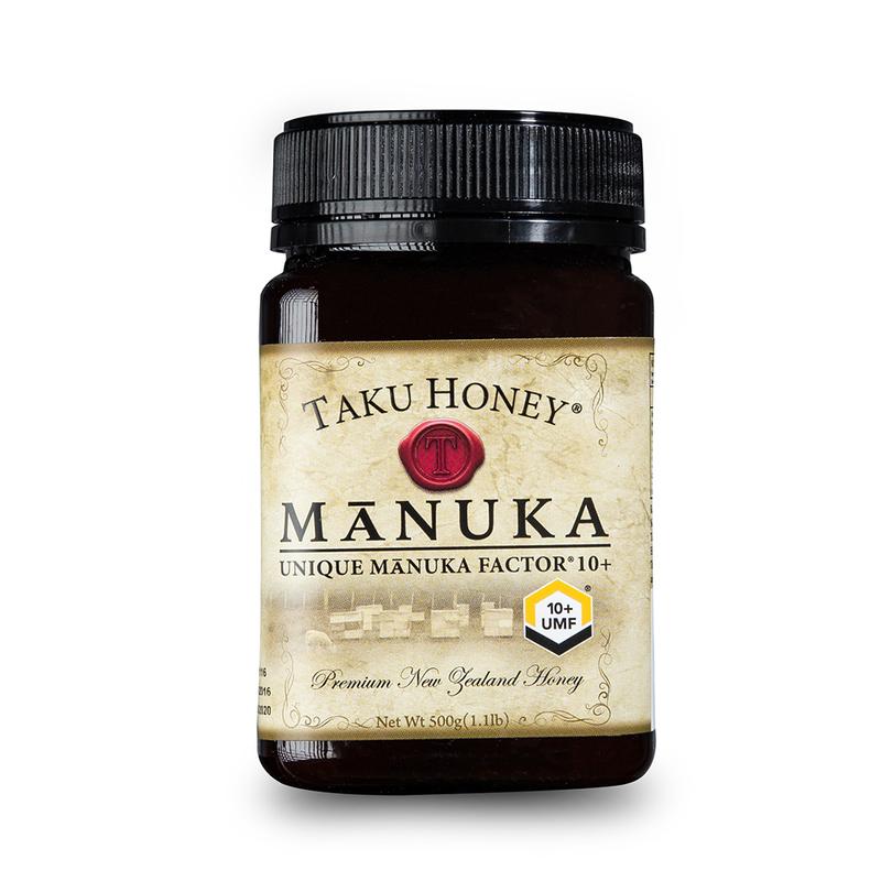 新西兰原产Taku塔库麦卢卡蜂蜜UMF10+500g