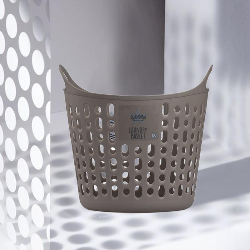 韩国原产SCANDINA镂空洗衣篮收纳篮储存框18L