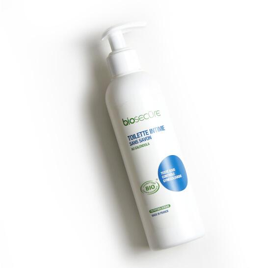 Biosecure安悦 法国原装进口 女生护理凝露240ml 男女均适合私处洗液温和滋润舒缓