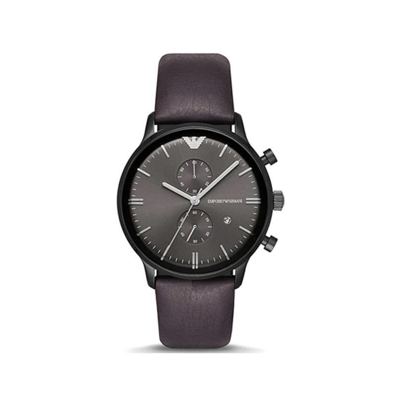 阿玛尼ARMANI 男表经典商务石英表皮带休闲钢带皮带手表 AR1932