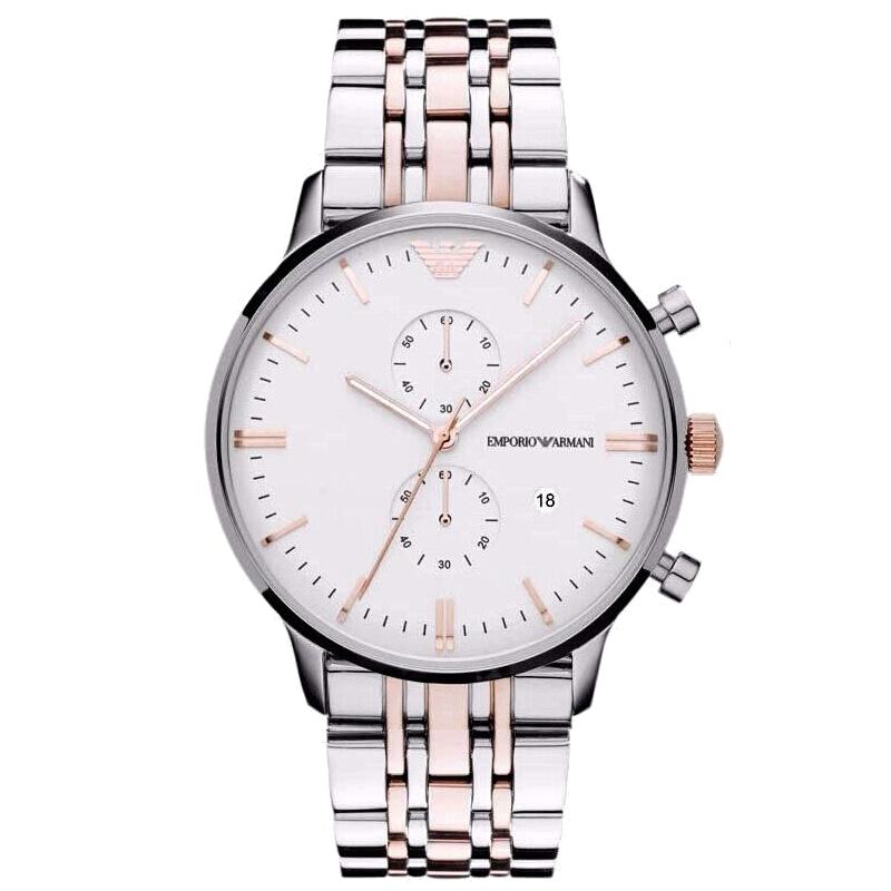 EMPORIO ARMANI 阿玛尼 男士商务手表 时尚腕表 AR1933