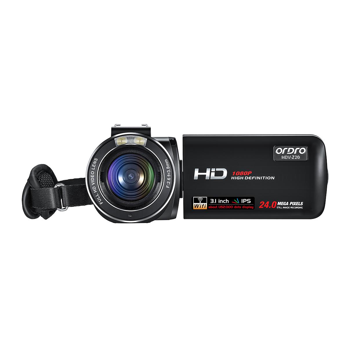 欧达数码摄像机T10(不含SD内存卡)