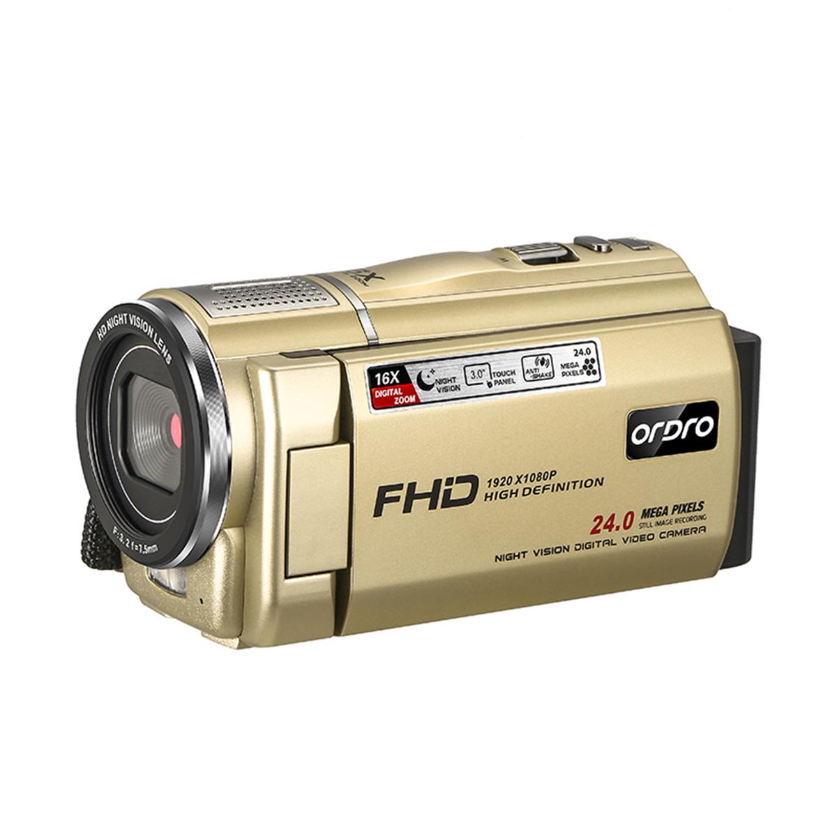欧达数码摄像机F7(不含SD内存卡)