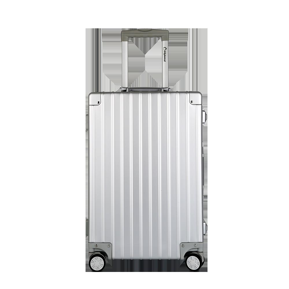 外交官 Diplomat 商务休闲拉杆箱 HM-21012 钛金银 20英寸