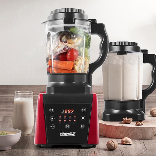 乐品加热破壁机豆浆机不粘底自动清洗果汁机