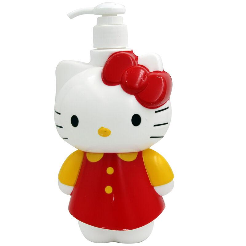 HelloKitty凯蒂猫儿童植物精纯滋润洗沐二合一(卡通型)500g