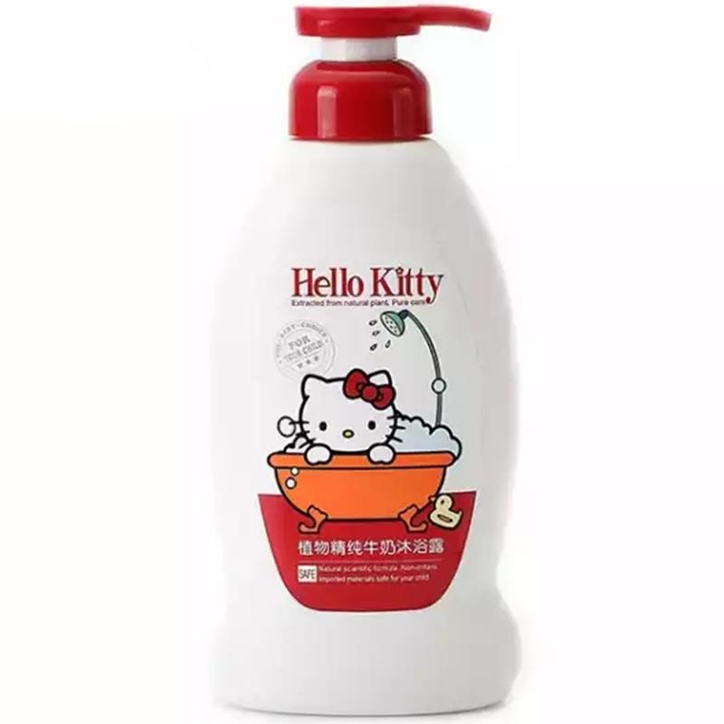 HelloKitty凯蒂猫儿童植物精纯牛奶沐浴露400g(2个装,800g)
