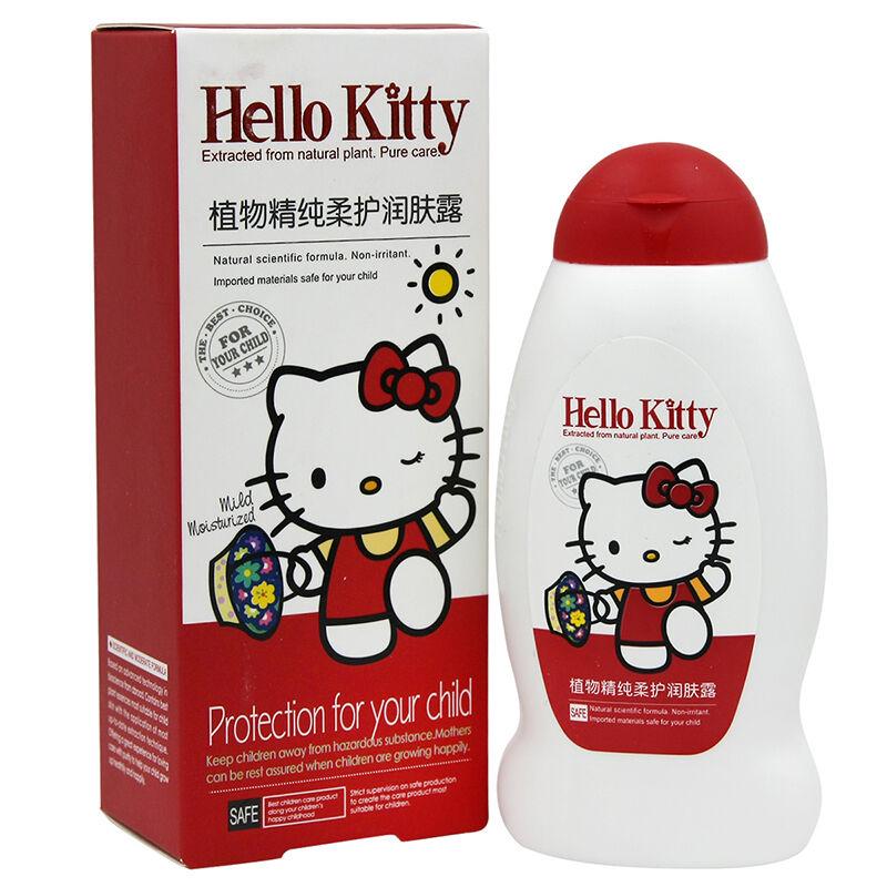 HelloKitty凯蒂猫儿童植物精纯柔护润肤露100g(2个装,200g)