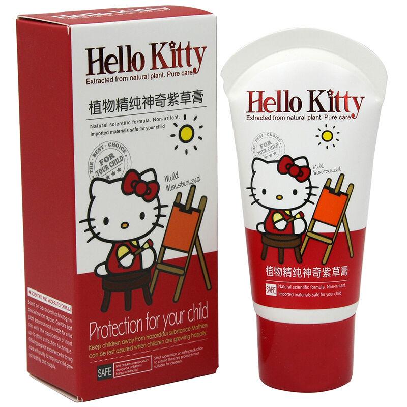 HelloKitty凯蒂猫儿童植物精纯神奇紫草膏35g(2个装,70g)