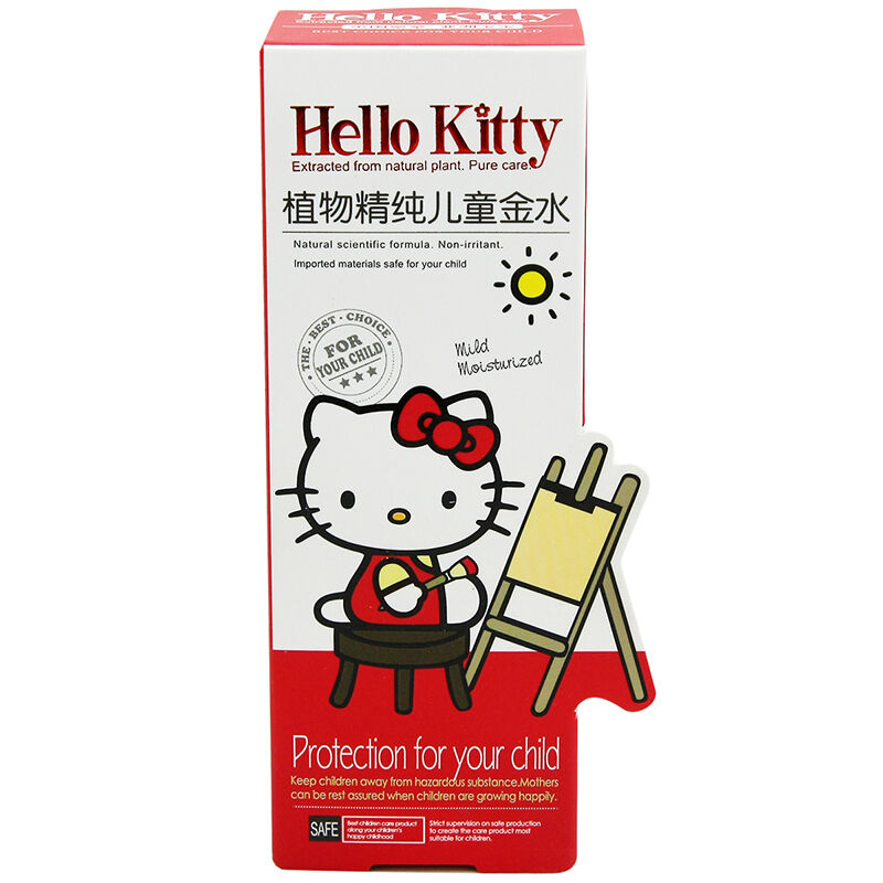 HelloKitty凯蒂猫儿童植物精纯儿童金水110g(2个装,220g)