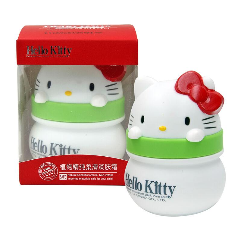 HelloKitty凯蒂猫儿童植物精纯柔滑润肤霜(卡通版)60g(2个装,120g)