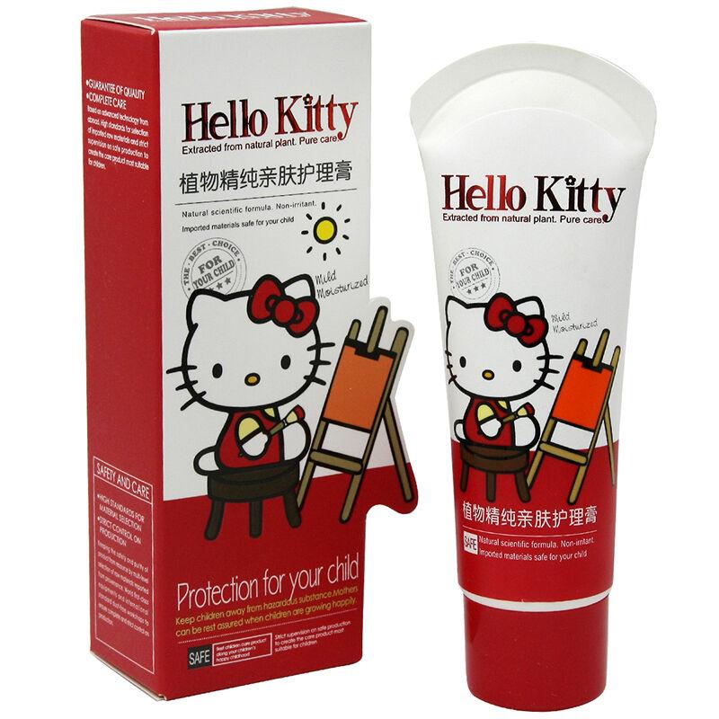 HelloKitty凯蒂猫儿童植物精纯亲肤护理膏50g(3个装,150g)