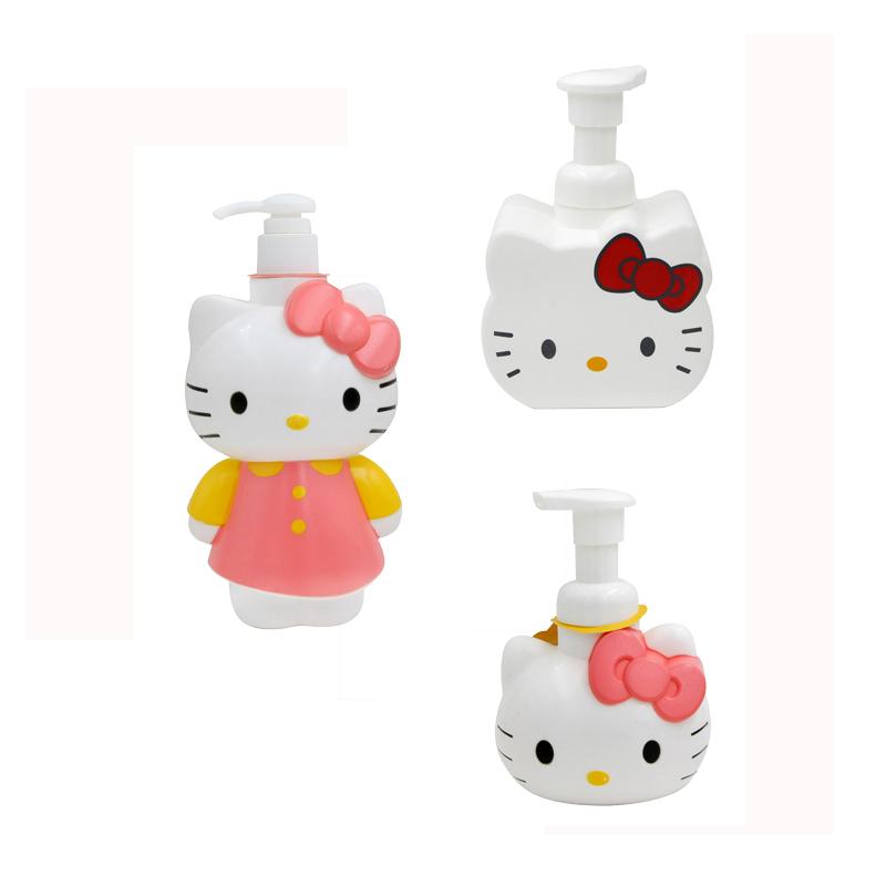 HelloKitty 凯蒂猫洁净组合(清爽二合一+洗面乳+洗手液,3件共计1000g)