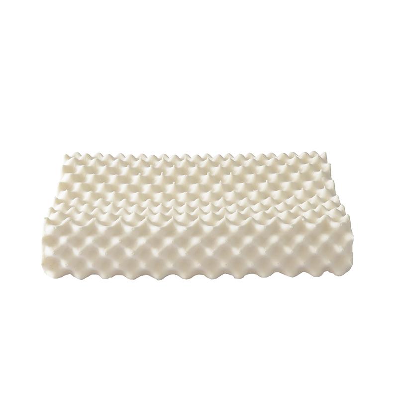 Mkewei买一送一成人天然乳胶枕按摩枕
