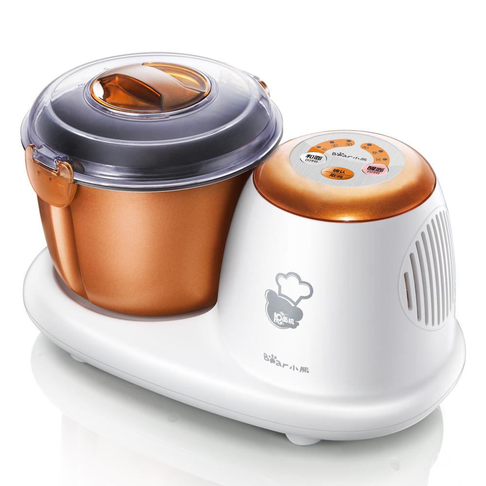 小熊家用全自动和面机多功能揉面机厨师机微电脑全智能醒面搅拌机