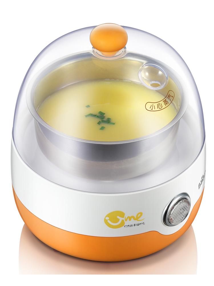 小熊煮蛋器自动断电蒸蛋器迷你小型单层多功能不锈钢煮蛋早餐机
