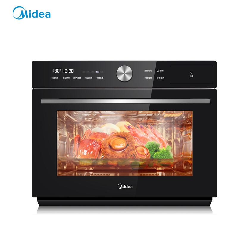 Midea/美的 S5-L300E蒸烤一体机 家用 台式智能烘焙蒸箱烤箱