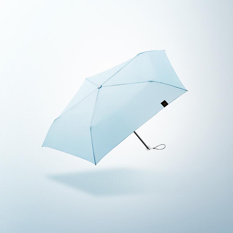 焦下铅笔伞超轻迷你晴雨两用防晒伞女遮阳三折雨伞
