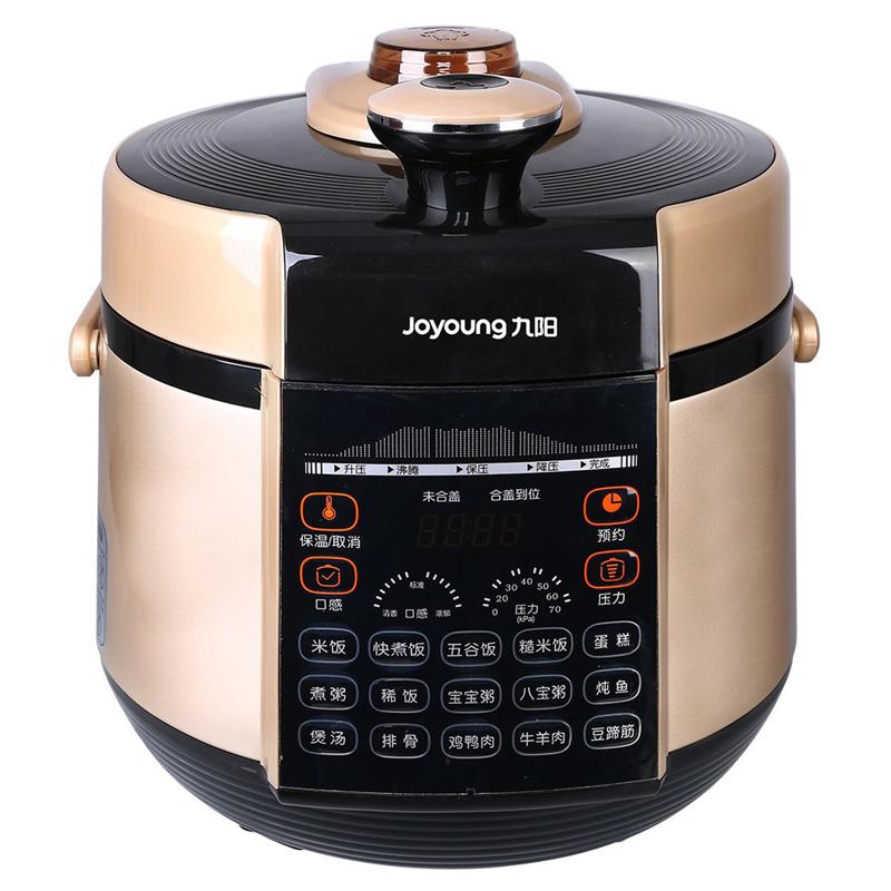 九阳(Joyoung)电压力煲韩式数码显示屏智能调压电压力锅Y-50YS31