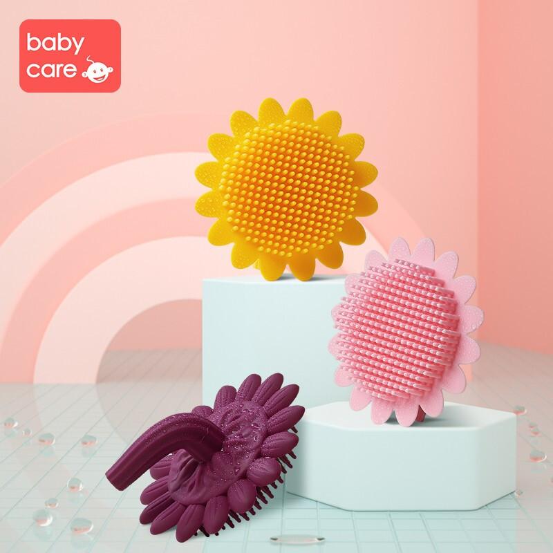 babycare 3286  婴儿洗澡刷(颜色随机)