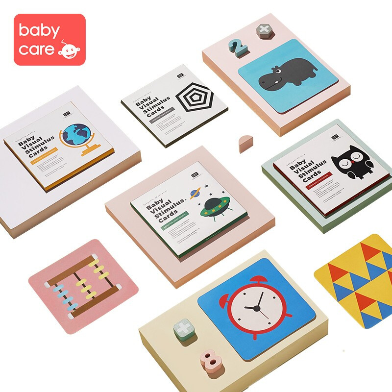 babycare 7332视觉发育卡(4本装)