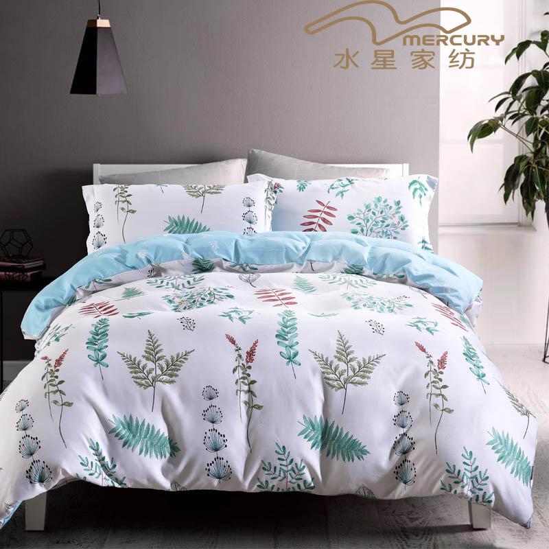 水星家纺(MERCURY) 抗菌法兰绒毯 毯子空调盖毯 双人毛毯盖毯   千叶物语150*200cm