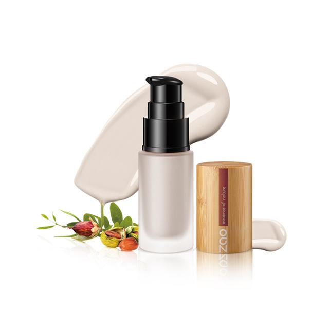 ZAO法国进口有机彩妆-鲜机杏仁油隔离霜30ml