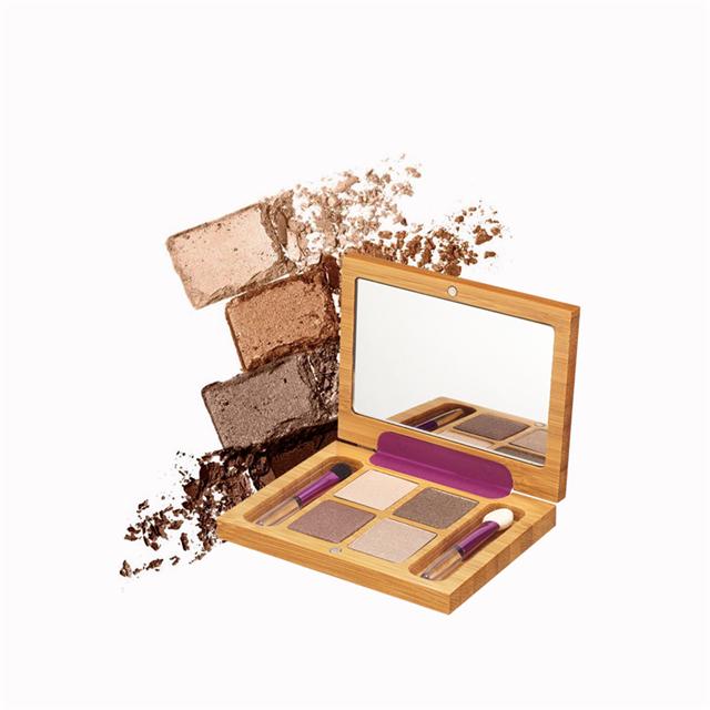 ZAO法国进口有机彩妆-鲜机云母保湿四色眼影4.4g