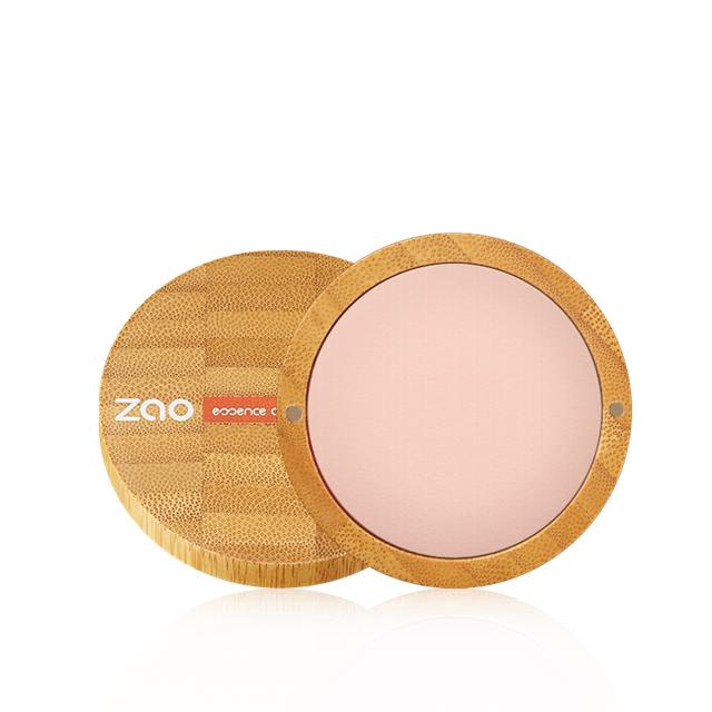 ZAO法国进口有机彩妆- 鲜机猴面包树保湿烘焙粉饼15g