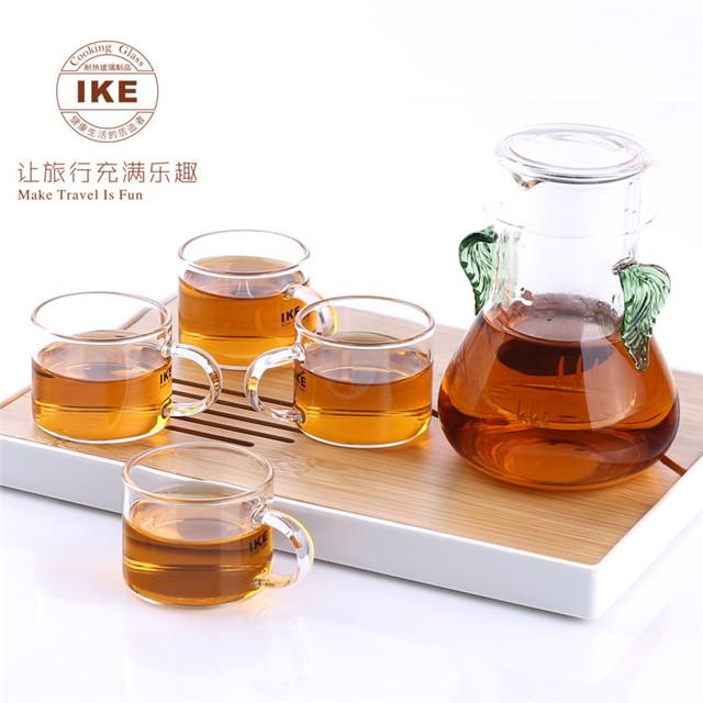 一柯(IKE)高硼硅玻璃茶具六件套YK-C601A