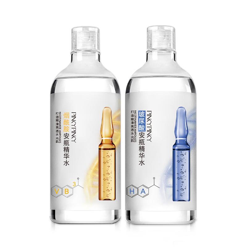 缤肌玻尿酸烟酰胺爽肤水1000ml*2瓶