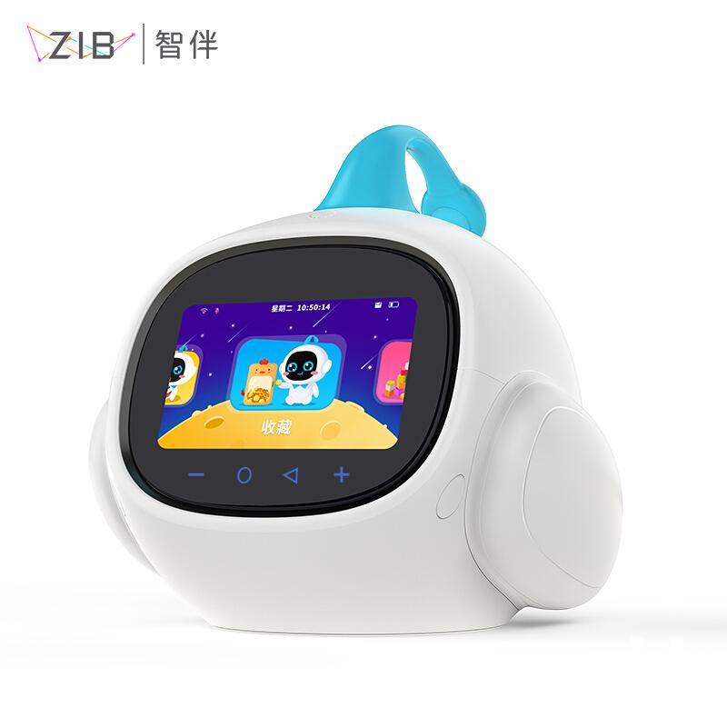 智伴1X 智能机器人 儿童早教机学习机 语音对话故事机 男孩女孩益智玩具 陪伴学习机器人