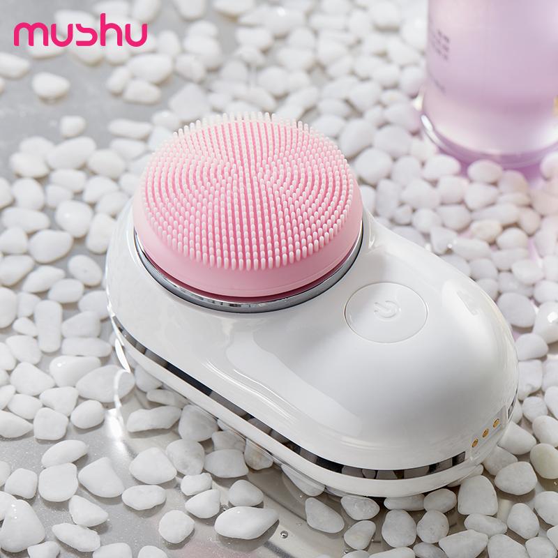 mushu木薯声波洁面仪J2 硅胶按摩清洁刷头