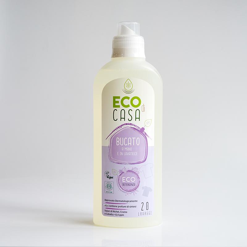 意大利源产ECO di CASA手洗机洗洗衣液衣服洗涤剂1000ml