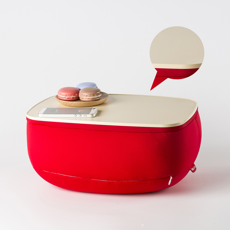 【创意家居】韩国原产JOODESIGN靠垫创意靠垫桌ABS塑料款