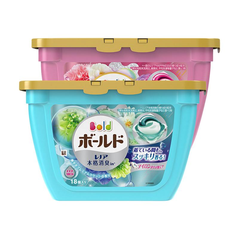 日本原装进口 宝洁PG花香洗衣球洗衣液凝珠啫喱 去污家用2盒
