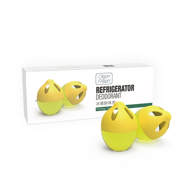 美国cleannfresh冰箱除味剂去味神器除味盒除臭清新异味家用除臭剂吸味消毒清洁剂